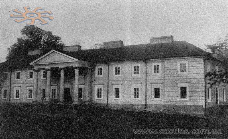 Палац Журовських у Лісоводах. Фото до 1914 року