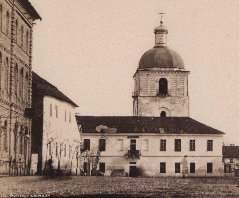 Подільська духовна семінарія і церква Іоана Хрестителя, 1880 рік