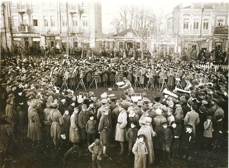 Проскурів у роки Української національно-демократичної революції 1917-1920 років