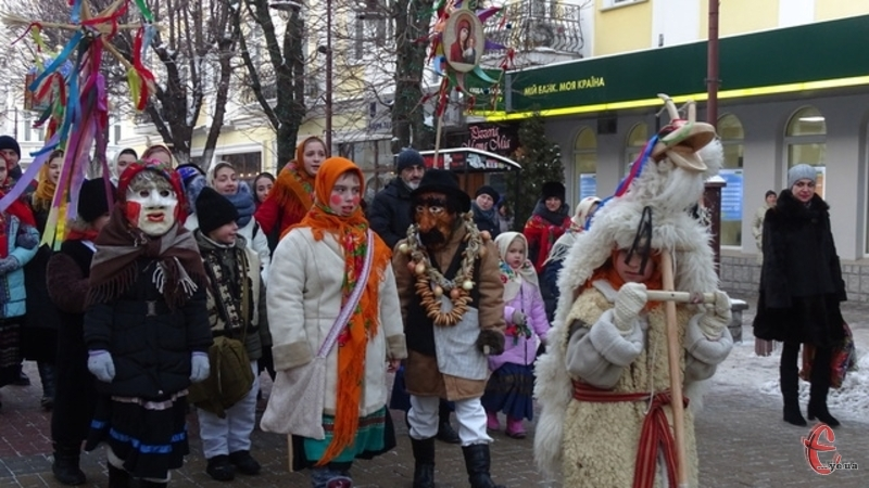 У 2019-му в Хмельницькому відбувся парад вертепів