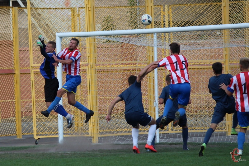 Случ забив по голу Восканяну та Савчуку, а ось Шевченка пробити команді зі Старокостянтинова не вдалося