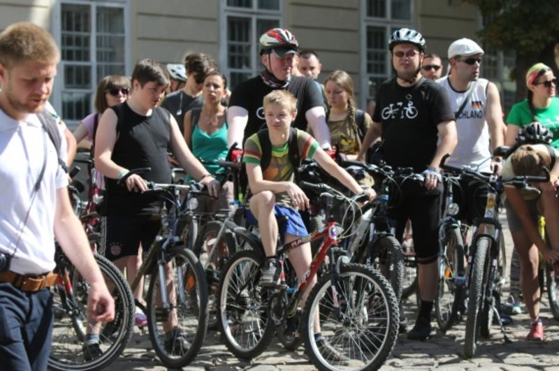 Їхатимуть велосипедисти зі Львова до Одеси