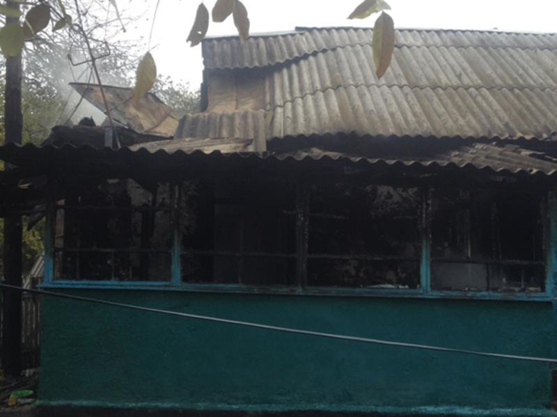 Під час ліквідації пожежі у житловому будинку рятувальники виявили тіло чоловіка