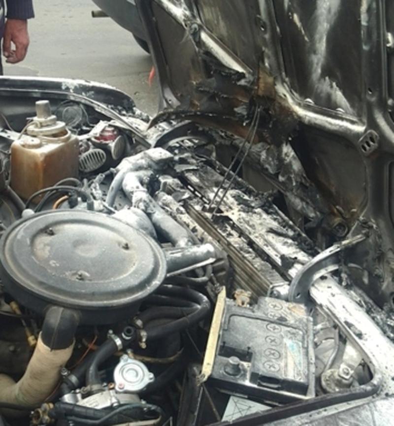 Рятувальники ліквідували пожежу в авто