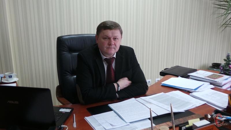 Директор обласного центру зайнятості Сергій Черешня