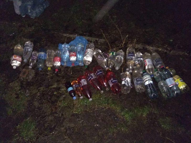 Алкоголь у пляшках намагались перекину через паркан СІЗО