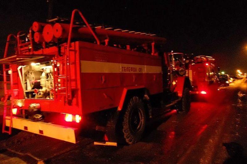 Рятуваники ліквідували пожежі