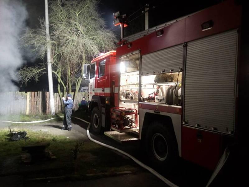 Рятувальники ліквідували загоряння у підвалі