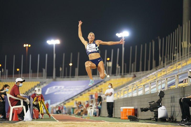 Марина Бех-Романчук у шостій спробі стрибнула на 6 метрів і 91 сантиметр