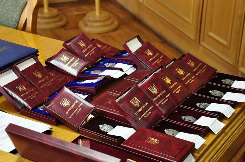 Президент України нагородив подолян з нагоди Дня Соборності