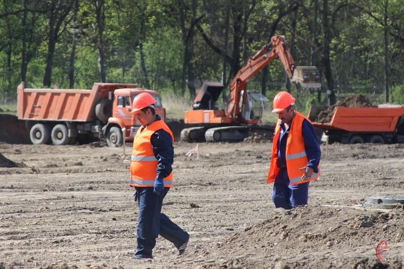 Активне будівництво інноваційного терміналу Нової пошти неподалік Хмельницького розпочнеться в травні