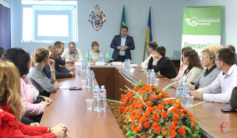 У Хмельницькому провели розширене засідання молодіжного крила Хмельницької обласної організації Аграрної партії України