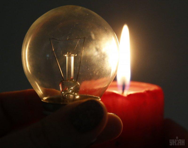 Востаннє віялові відключення електрики в Україні були в 2015 році