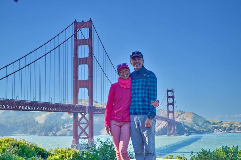 Анна і Богдан у Сан-Франциско