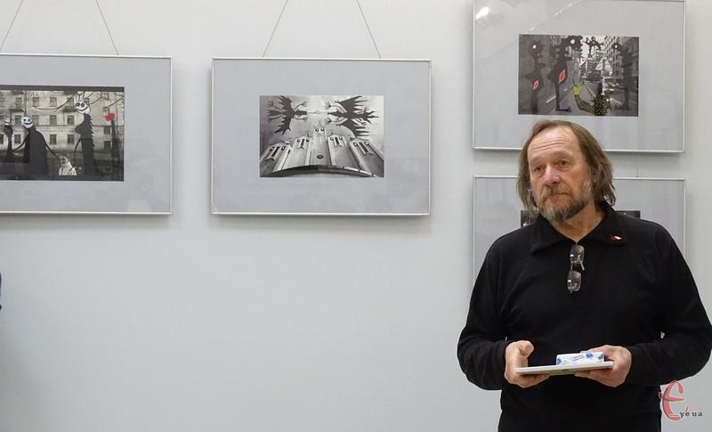 Олександр Ляпін показав фото із майбутнього