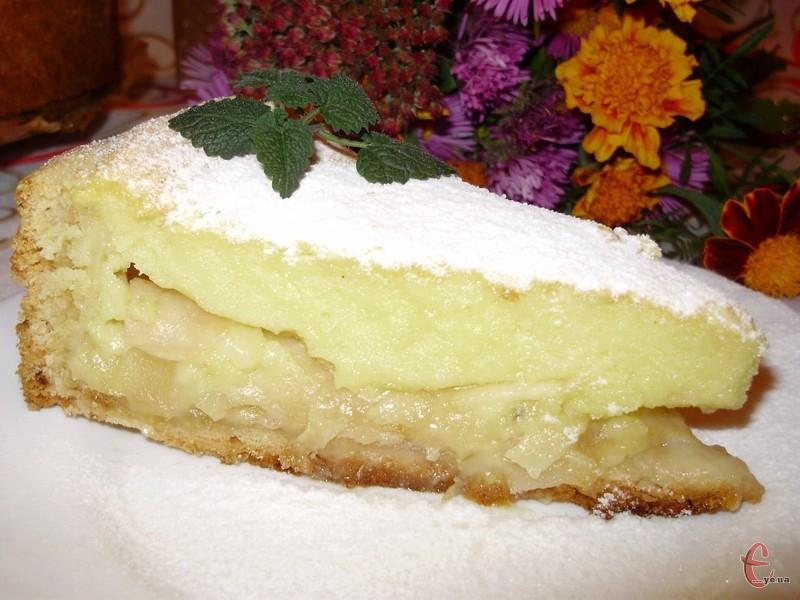 Пиріг смачний в будь-якому вигляді, але, коли він з холодильника — просто неймовірний!