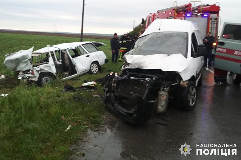 Аварія сталася між селами Поляни і Тарноруда Волочиського району