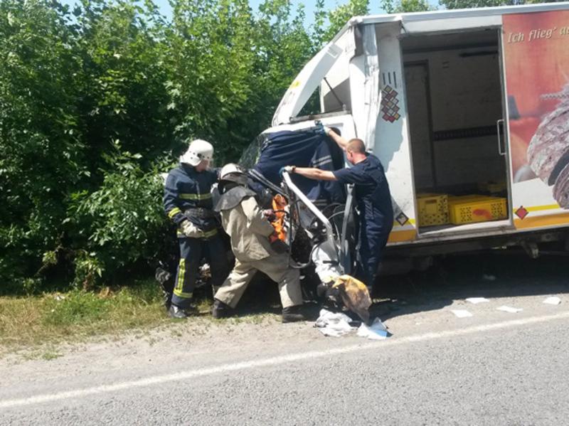 В аварії травмувалося двоє людей