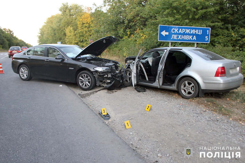 Аварія сталася поблизу села Скаржинці