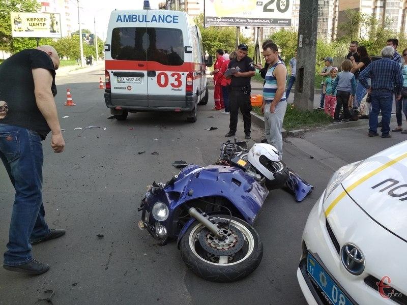 Аварія сталася по вулиці Зарічанській
