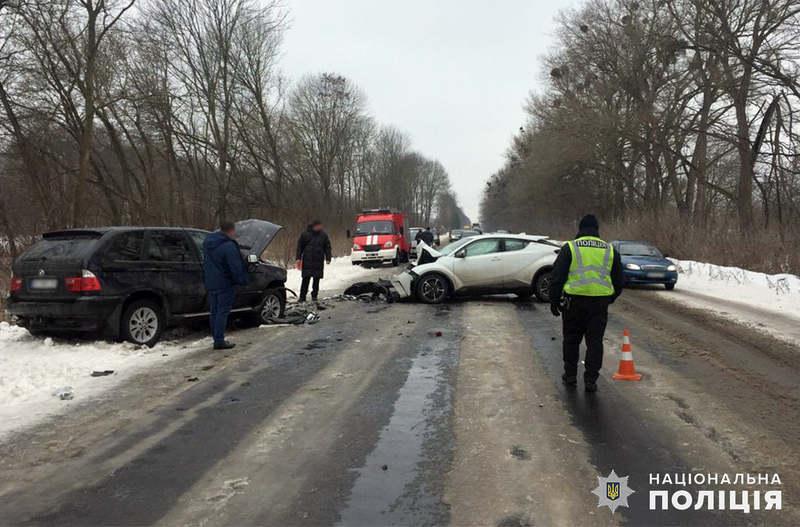 Зіткнулися два автомобілі, за кермом яких перебували жительки станції Богданівці
