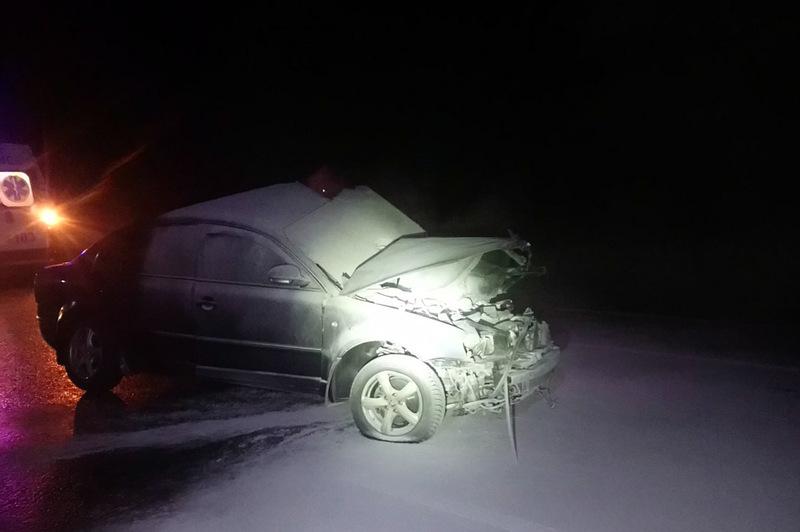 Водій був затиснутий в салоні автомобіля