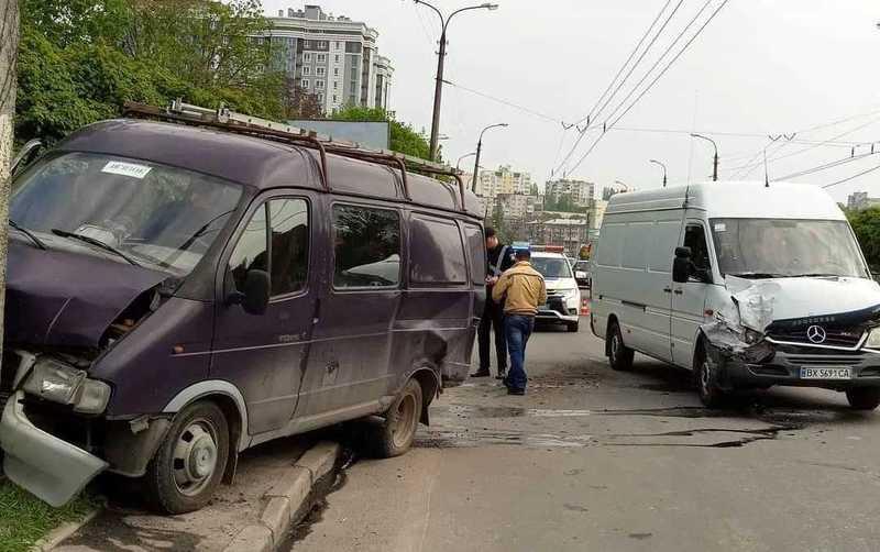 Аварія сталася на вулиці Свободи