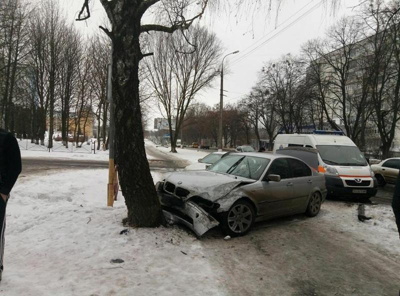 Постраждав пасажир BMW