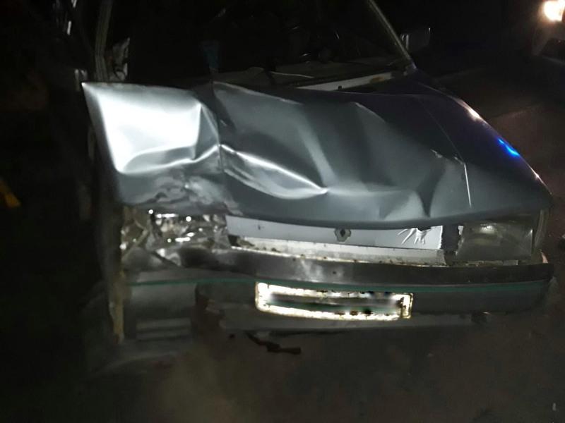 Автомобіль отримав механічні пошкодження