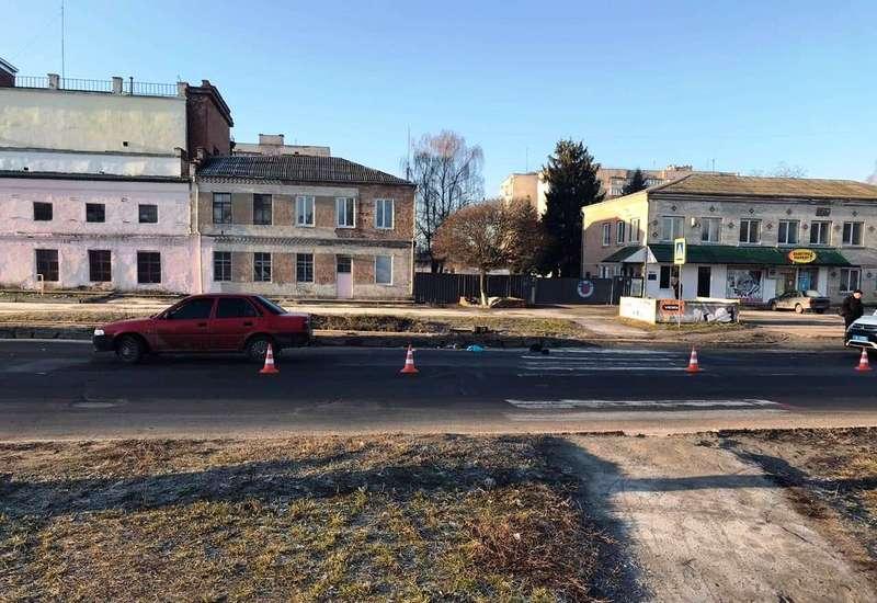 Аварія сталася на вулиці Красовського