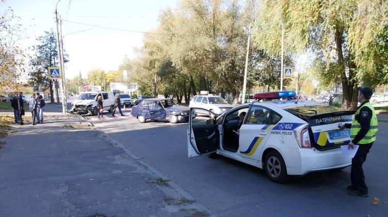 Аварія сталася по обіді по вулиці Прибузькій