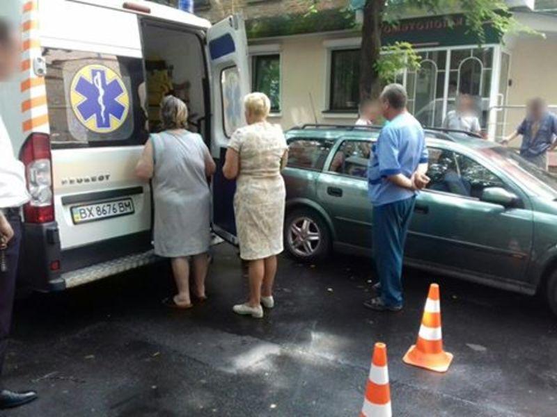 Дівчинку забрали до лікарні