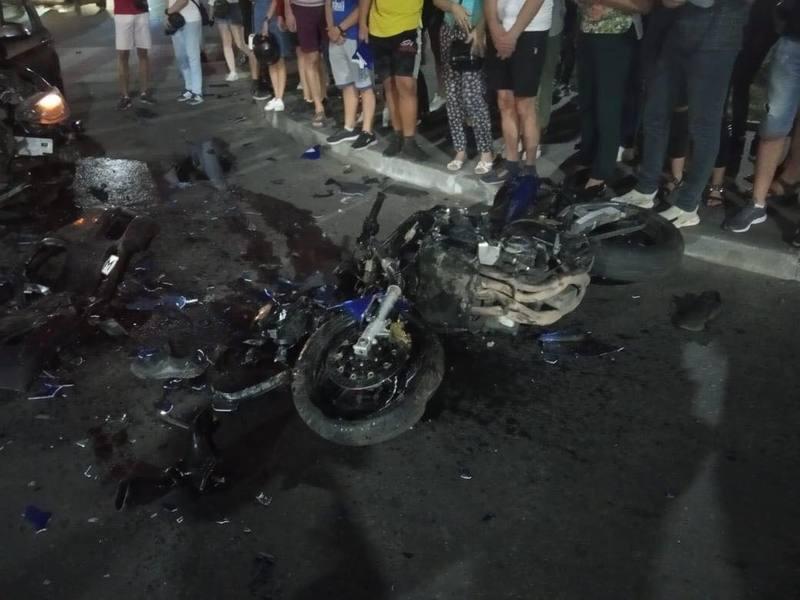 Аварія сталася на вулиці Степана Бандери