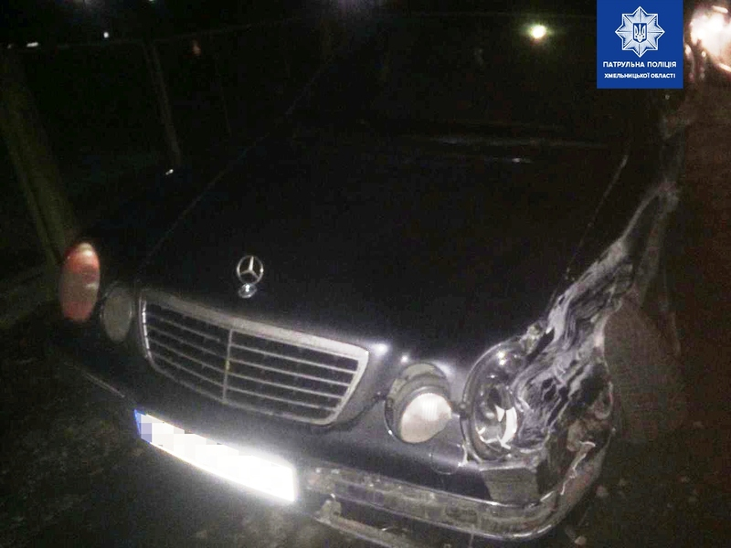 Аварія сталася на вулиці Волочиській