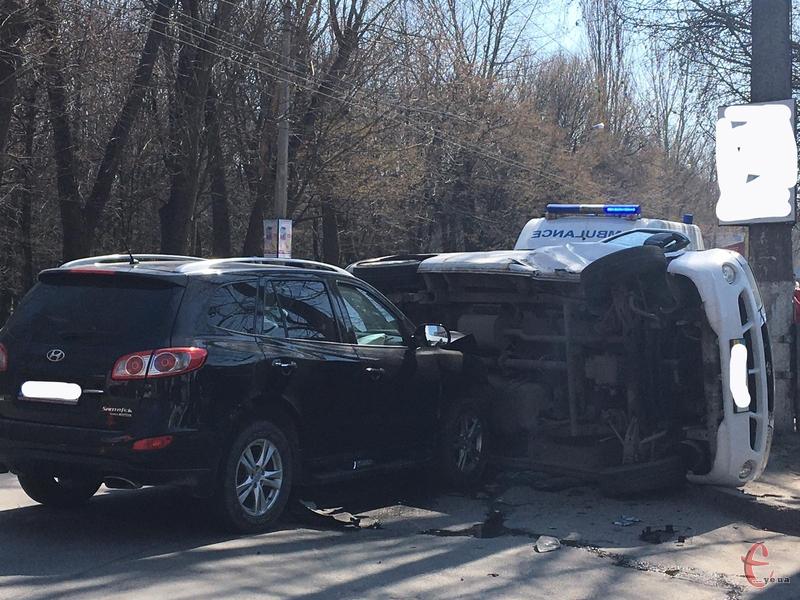 Аварія сталася в за декілька хвилин після 13 години.