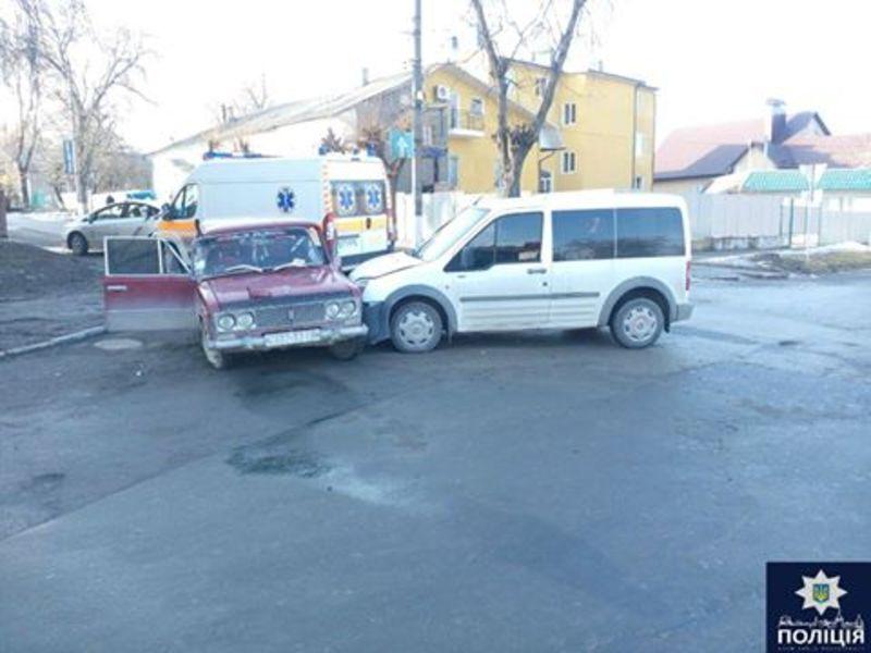 Аварія трапилася на перехресті