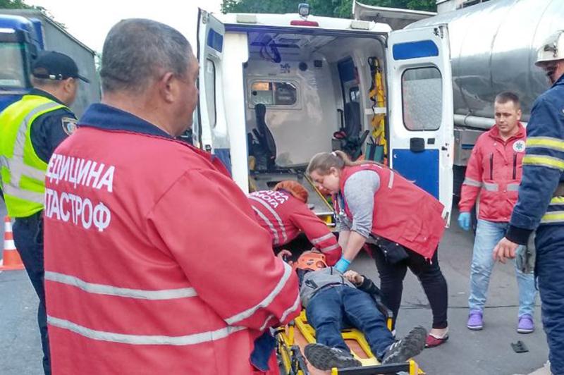 У ДТП травмувався чоловік