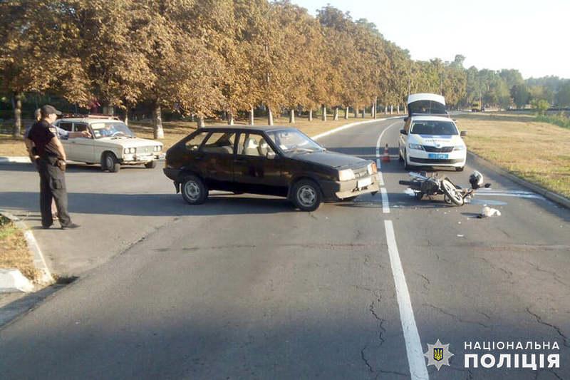 Аварія сталася по вулиці Михайлова у Нетішині
