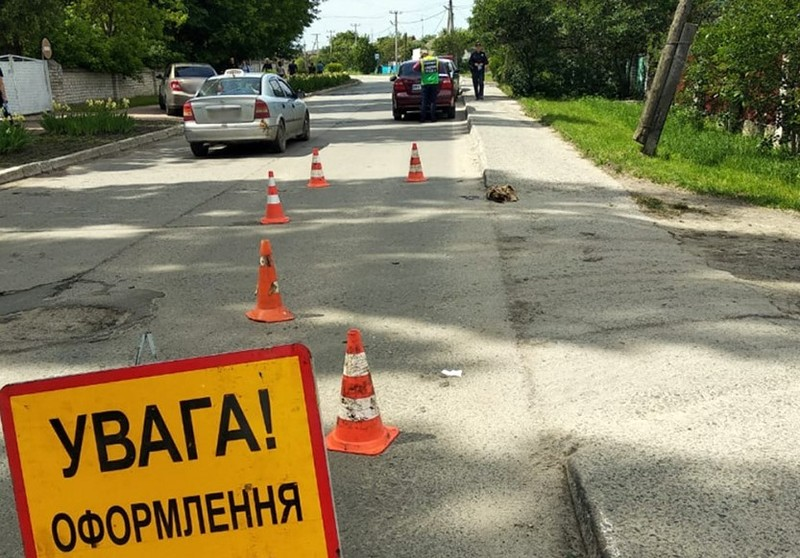 У Славутському районі поліцейські встановлюють обставини ДТП