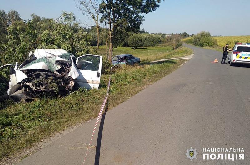 ДТП зі смертельними наслідками сталася в Волочсиькому районі