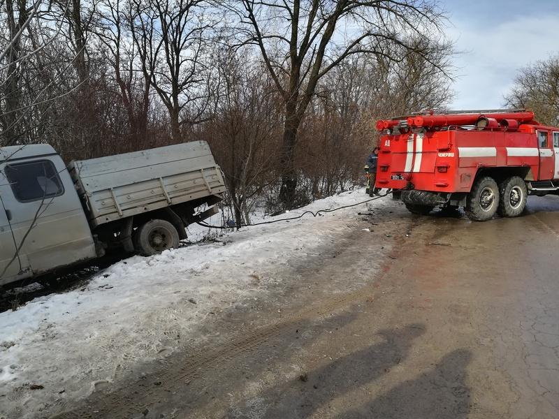 Аварія сталася близько села Почапанці Чемеровецького району