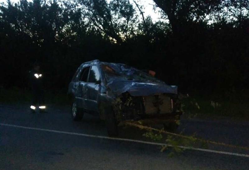 Рятувальники ліквідували наслідки дорожньо-транспортної пригоди