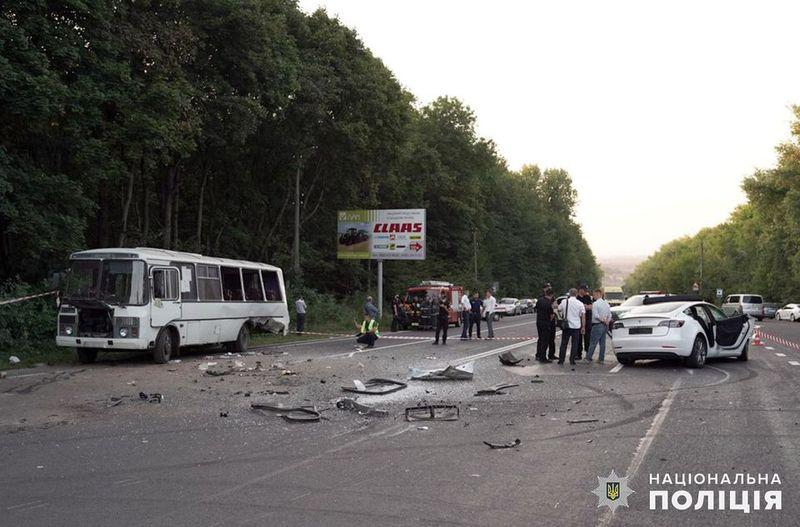 Аварія сталася учора, 15 вересня, на околиці Хмельницького