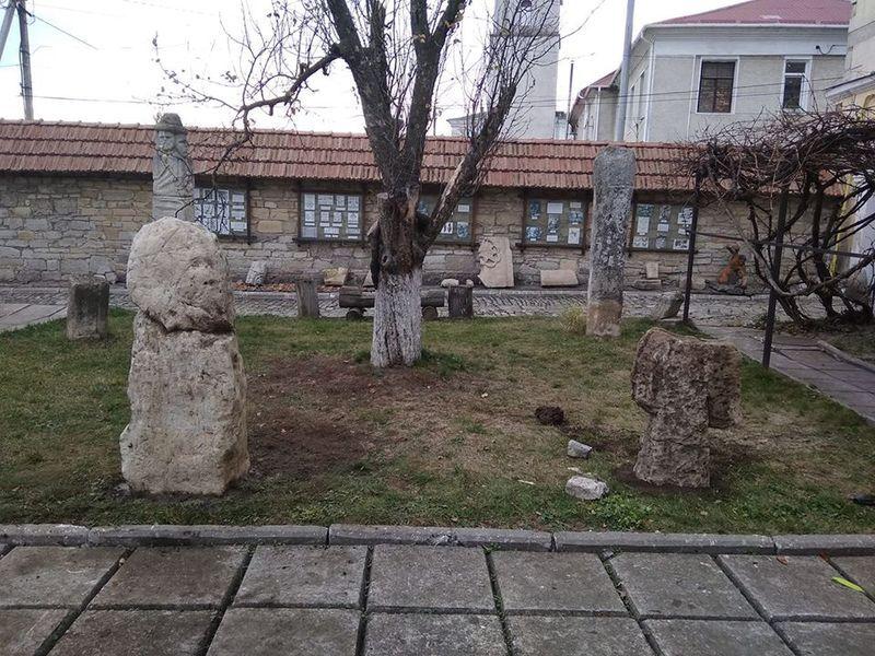 Ідол знайдений на Дунаєвеччині