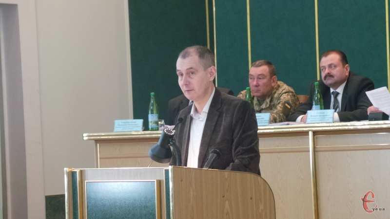 Олег Фасоля розповів на засіданні колегії ОДА про харчування школярів