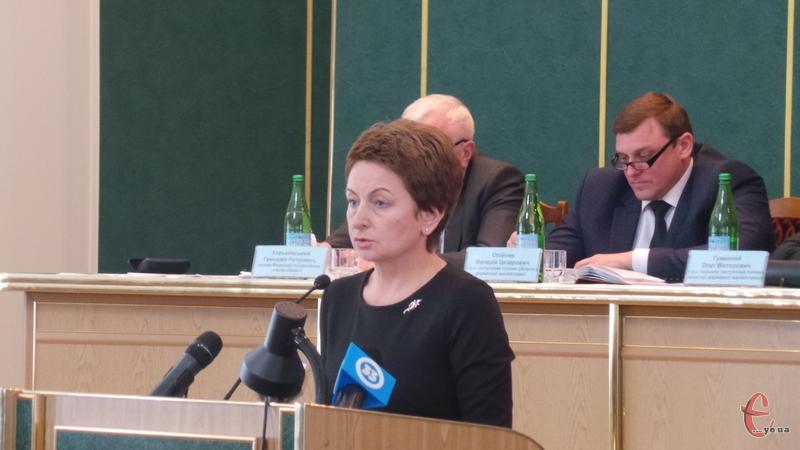 На колегії про стан заробітної плати доповіла Світлана Лукомська