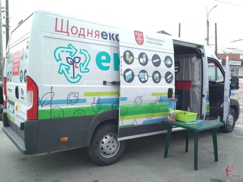 Знайти екобус можна буде на 15 локаціях обласного центру