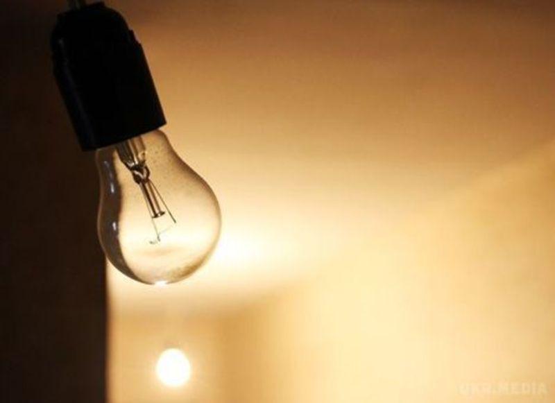 Світло відключать на 10 вулицях