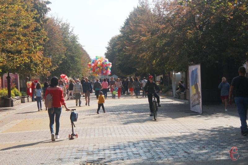 У ці вихідні, 26-27 вересня, Хмельницький відзначав День міста