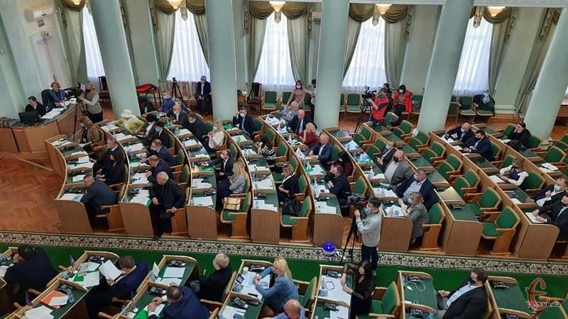 Вчора, 8 квітня, відбулася чергова сесія Хмельницької обласної ради